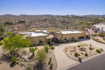 Fountain Hills Single Family Home For Sale: 16621 E Greenbriar Lane