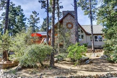Prescott Single Family Home For Sale: 5862 W Sleepy Hollow Drive