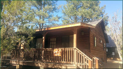 Overgaard AZ Single Family Home For Sale: $124,900