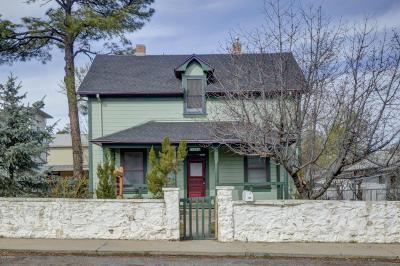 Prescott Single Family Home For Sale: 114 N Willow Street