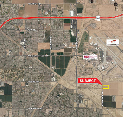 Queen Creek Residential Lots & Land For Sale: 6933 S Sossaman Road