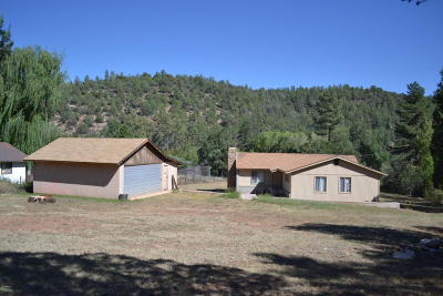 Payson Single Family Home For Sale: 10585 N Houston Mesa Road