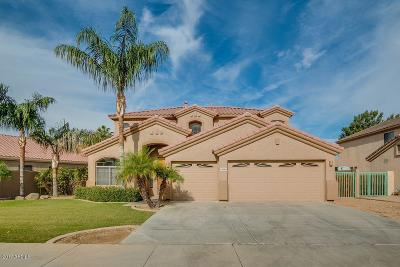 Goodyear Single Family Home UCB (Under Contract-Backups): 13584 W Holly Street