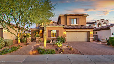 Carefree, Cave Creek Single Family Home For Sale: 5319 E Baker Drive