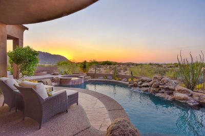 Scottsdale Single Family Home For Sale: 12084 E Whispering Wind Drive