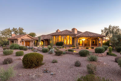 Superstition Mountain Single Family Home For Sale: 7258 E Spanish Bell Lane