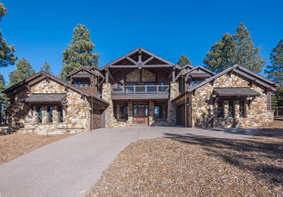Flagstaff Single Family Home For Sale: 1914 E La Cantera Court