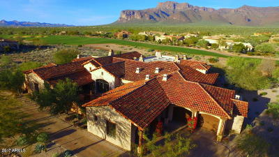 Gold Canyon AZ Single Family Home For Sale: $2,200,000