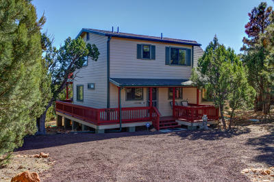 Heber AZ Single Family Home For Sale: $274,900