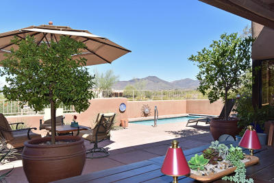 Carefree AZ Single Family Home For Sale: $638,000