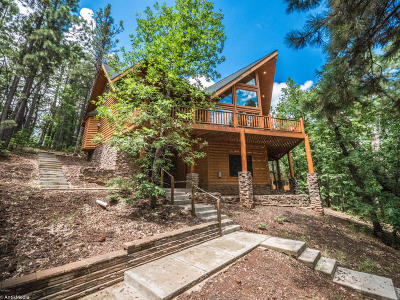 Pinetop Single Family Home For Sale: 6168 Paradise Pine Lane