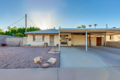 Phoenix Single Family Home For Sale: 4610 N 24th Place