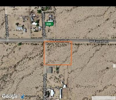 Residential Lots & Land For Sale: W Farrell Road