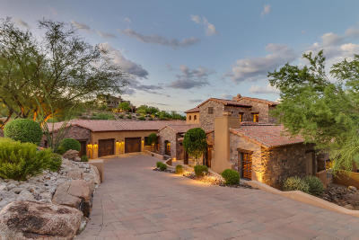 Fountain Hills Single Family Home For Sale: 9205 N Fireridge Trail