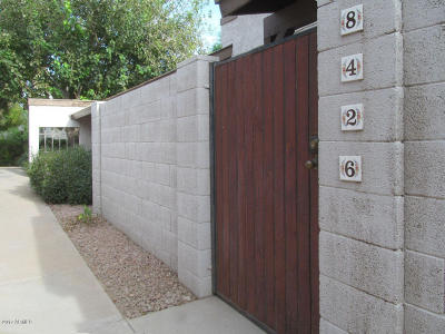 Scottsdale Condo/Townhouse For Sale: 8426 E Roosevelt Street