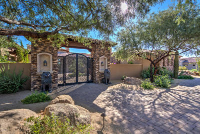 Scottsdale Single Family Home For Sale: 8669 E Overlook Drive