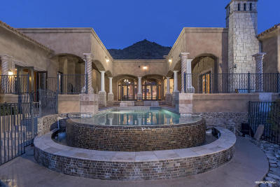 Scottsdale Single Family Home For Sale: 11528 E Mirasol Circle