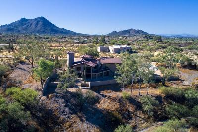 Carefree, Cave Creek Single Family Home For Sale: 5916 E Highland Road