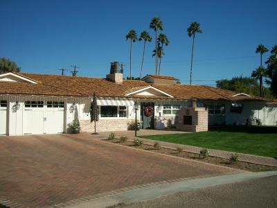 Scottsdale Single Family Home For Sale: 6114 E Calle Del Norte Street