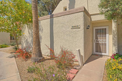 Scottsdale Condo/Townhouse For Sale: 7817 E Rovey Avenue