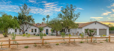 Paradise Valley Single Family Home For Sale: 3233 E San Miguel Place