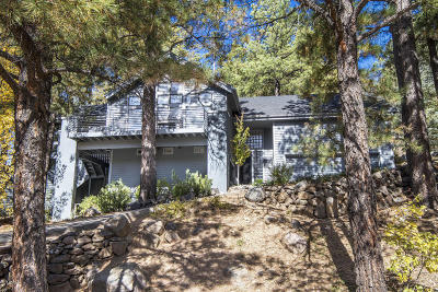 Flagstaff Single Family Home For Sale: 3481 Griffiths Spring