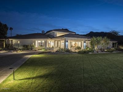 Paradise Valley Single Family Home For Sale: 5969 E Mockingbird Lane