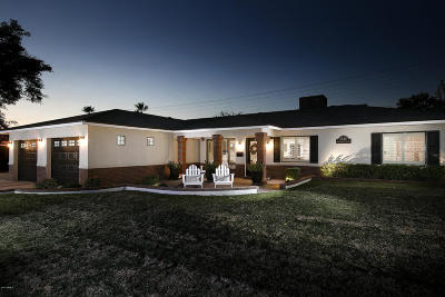 Phoenix Single Family Home UCB (Under Contract-Backups): 3940 E Heatherbrae Drive