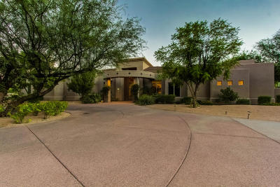 Paradise Valley Single Family Home For Sale: 6151 E Royal Palm Road