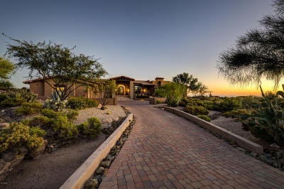 Scottsdale Single Family Home For Sale: 10987 E Wildcat Hill Road