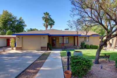 Tempe Single Family Home For Sale: 170 E Vista Del Cerro Drive
