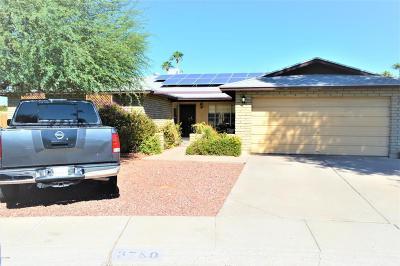 Phoenix Single Family Home For Sale: 3780 W Wood Drive