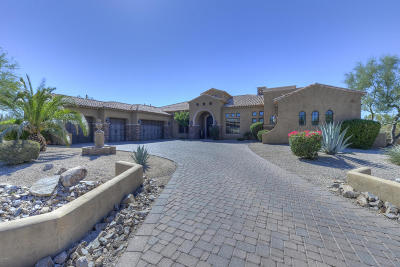 Scottsdale Single Family Home For Sale: 6301 E Lomas Verdes Drive