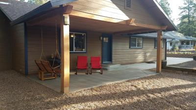 Pinetop Single Family Home For Sale: 134 W Bonanza Road