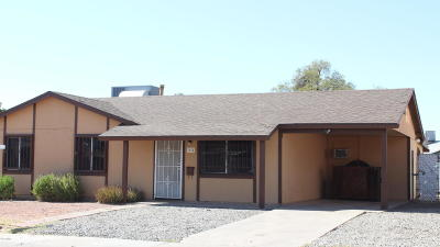 Phoenix Single Family Home For Sale: 1614 N 65th Avenue