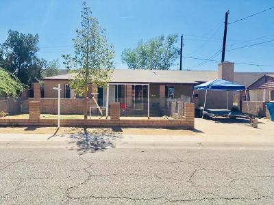 Phoenix  Single Family Home For Sale: 1727 W Apache Street