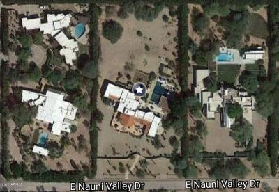 Paradise Valley Residential Lots & Land For Sale: 5620 E Nauni Valley Drive