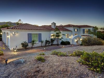 Paradise Valley Single Family Home For Sale: 7838 N 54th Place