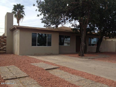 Glendale Single Family Home For Sale: 4935 W Lamar Road