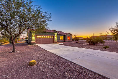 Casa Grande Single Family Home UCB (Under Contract-Backups): 19483 W Sweet Acacia Drive