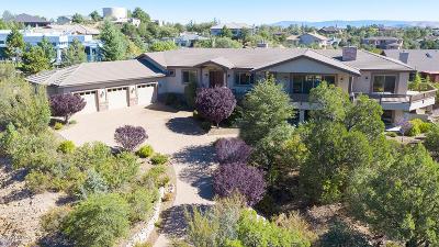 Prescott Single Family Home For Sale: 1365 Sierry Peaks Drive