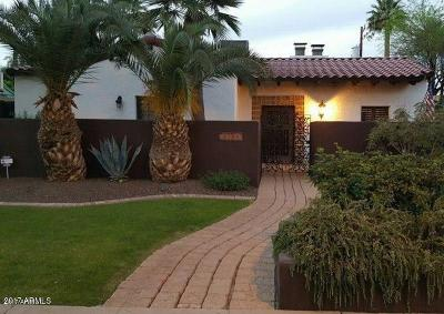 Phoenix Single Family Home For Sale: 1134 W Palm Lane