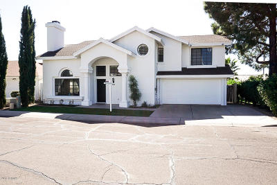 Phoenix Single Family Home For Sale: 3207 E Wescott Drive