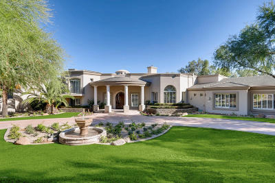 Paradise Valley Single Family Home For Sale: 6725 N 65th Place