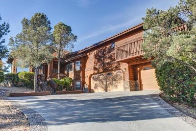 Prescott Single Family Home For Sale: 1514 Eagle Crest Drive