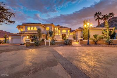 Paradise Valley Single Family Home For Sale: 6321 E Vista Drive