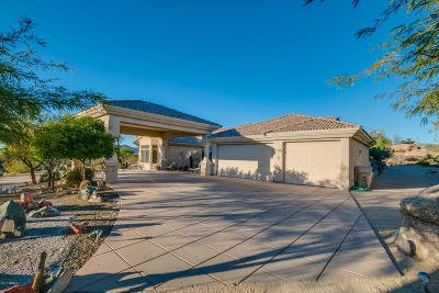 Carefree AZ Single Family Home For Sale: $700,000
