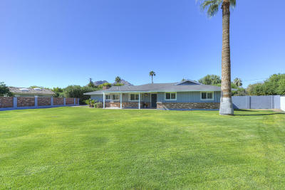 Paradise Valley Single Family Home For Sale: 5128 N 68th Place