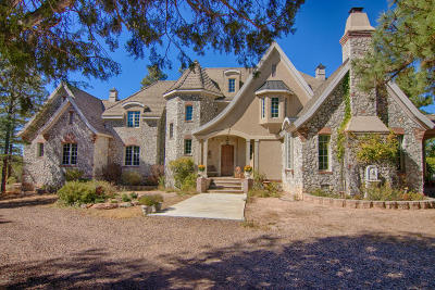Show Low Single Family Home For Sale: 5000 Joe Tank Road