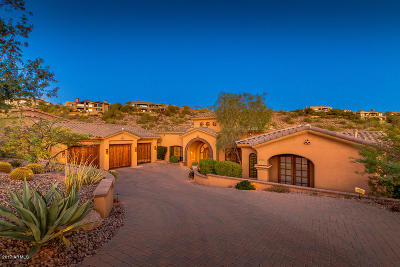 Fountain Hills Single Family Home For Sale: 9737 N Fireridge Trail